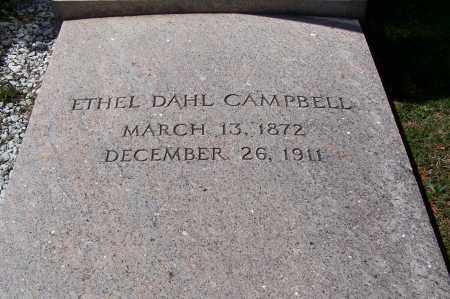 DAHL CAMPBELL, ETHEL - Fayette County, Ohio | ETHEL DAHL CAMPBELL - Ohio Gravestone Photos