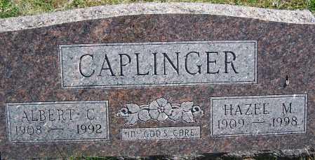 CAPLINGER, ALBERT C. - Fayette County, Ohio | ALBERT C. CAPLINGER - Ohio Gravestone Photos