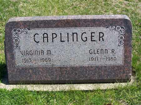 CAPLINGER, VIRGINIA M. - Fayette County, Ohio   VIRGINIA M. CAPLINGER - Ohio Gravestone Photos