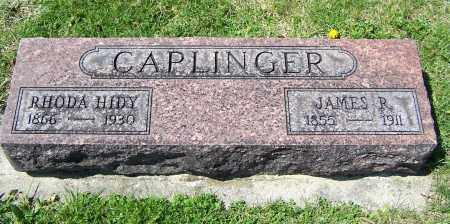 CAPLINGER, JAMES R. - Fayette County, Ohio | JAMES R. CAPLINGER - Ohio Gravestone Photos