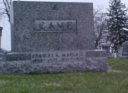 CAVE, CHARLES A. - Fayette County, Ohio | CHARLES A. CAVE - Ohio Gravestone Photos