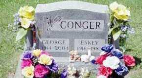 CONGER, ESKEY M - Fayette County, Ohio | ESKEY M CONGER - Ohio Gravestone Photos