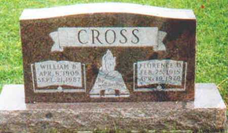 CROSS, FLORENCE O - Fayette County, Ohio | FLORENCE O CROSS - Ohio Gravestone Photos