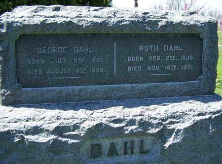 DAHL, GEORGE - Fayette County, Ohio | GEORGE DAHL - Ohio Gravestone Photos