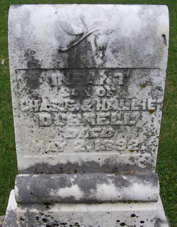 DURNELL, INFANT SON - Fayette County, Ohio | INFANT SON DURNELL - Ohio Gravestone Photos