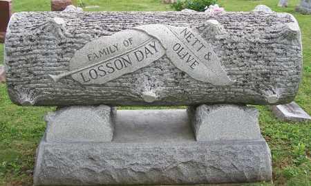 DAY, LOSSON - Fayette County, Ohio | LOSSON DAY - Ohio Gravestone Photos
