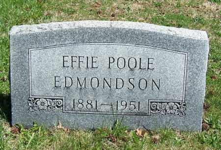 EDMONDSON, EFFIE - Fayette County, Ohio   EFFIE EDMONDSON - Ohio Gravestone Photos
