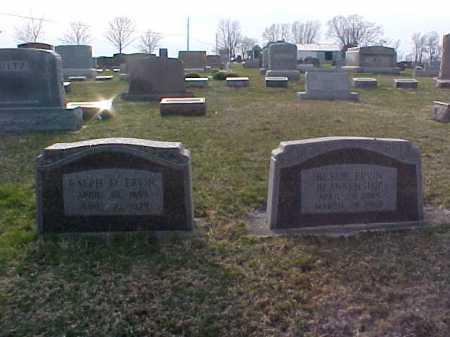 ERVIN, RALPH E - Fayette County, Ohio   RALPH E ERVIN - Ohio Gravestone Photos