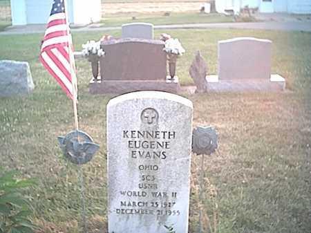 EVANS, KENNETH EUGENE - Fayette County, Ohio | KENNETH EUGENE EVANS - Ohio Gravestone Photos