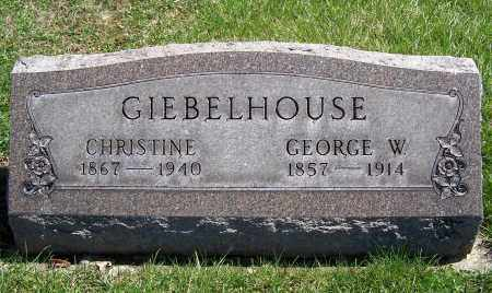 GIEBELHOUSE, CHRISTINE - Fayette County, Ohio | CHRISTINE GIEBELHOUSE - Ohio Gravestone Photos