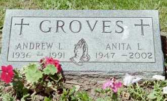 GROVES, ANITA L - Fayette County, Ohio | ANITA L GROVES - Ohio Gravestone Photos