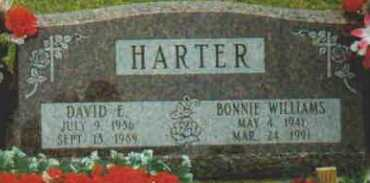 HARTER, BONNIE - Fayette County, Ohio | BONNIE HARTER - Ohio Gravestone Photos