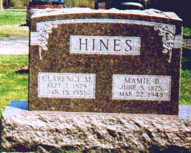 HINES, CLARENCE M - Fayette County, Ohio | CLARENCE M HINES - Ohio Gravestone Photos