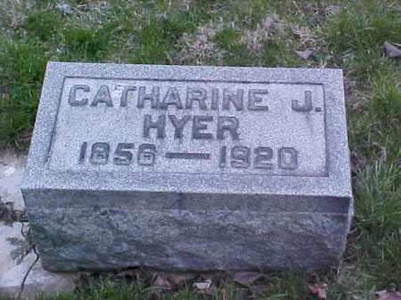 HYER, CATHARINE J. - Fayette County, Ohio | CATHARINE J. HYER - Ohio Gravestone Photos