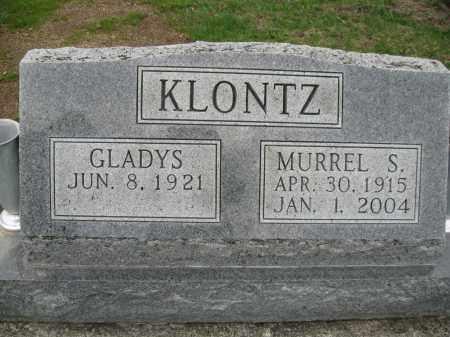 KLONTZ, GLADYS - Fayette County, Ohio | GLADYS KLONTZ - Ohio Gravestone Photos