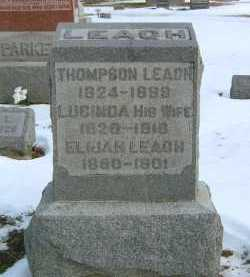 LEACH, THOMPSON - Fayette County, Ohio | THOMPSON LEACH - Ohio Gravestone Photos