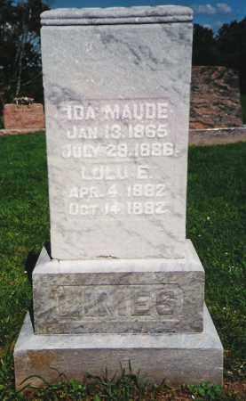 MCHUGH LIMES, IDA MAUDE - Fayette County, Ohio | IDA MAUDE MCHUGH LIMES - Ohio Gravestone Photos