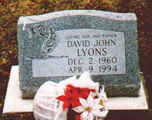 LYONS, DAVID J - Fayette County, Ohio   DAVID J LYONS - Ohio Gravestone Photos