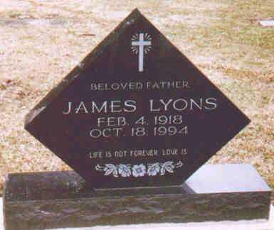 LYONS, JAMES - Fayette County, Ohio | JAMES LYONS - Ohio Gravestone Photos