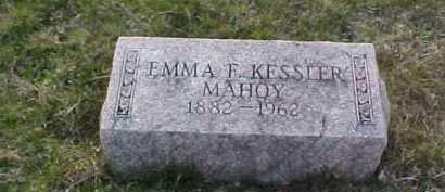 KESSLER MAHOY, EMMA F. - Fayette County, Ohio | EMMA F. KESSLER MAHOY - Ohio Gravestone Photos
