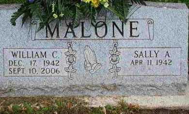 CARSTEN MALONE, SALLY A - Fayette County, Ohio | SALLY A CARSTEN MALONE - Ohio Gravestone Photos