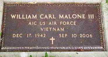 MALONE, WILLIAM C - Fayette County, Ohio | WILLIAM C MALONE - Ohio Gravestone Photos