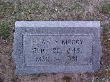 MCCOY, ELIAS A. - Fayette County, Ohio | ELIAS A. MCCOY - Ohio Gravestone Photos