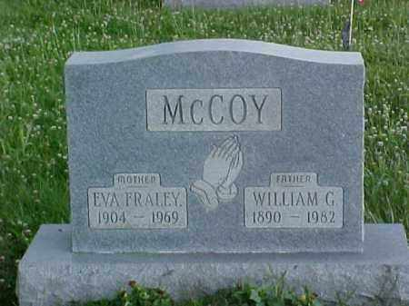 FRALEY MCCOY, EVA - Fayette County, Ohio | EVA FRALEY MCCOY - Ohio Gravestone Photos