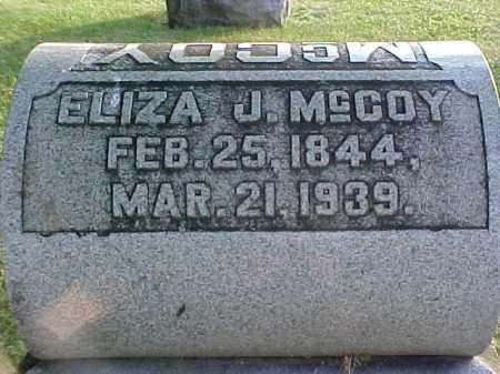 MCCOY, ELIZA J. - Fayette County, Ohio | ELIZA J. MCCOY - Ohio Gravestone Photos