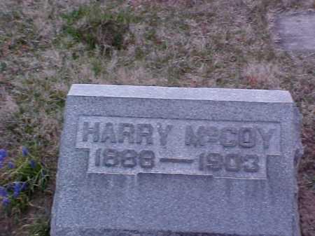 MCCOY, HARRY - Fayette County, Ohio | HARRY MCCOY - Ohio Gravestone Photos