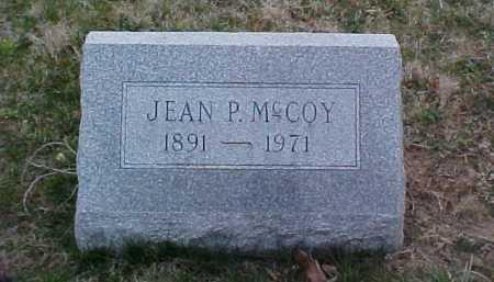 MCCOY, JEAN P. - Fayette County, Ohio | JEAN P. MCCOY - Ohio Gravestone Photos
