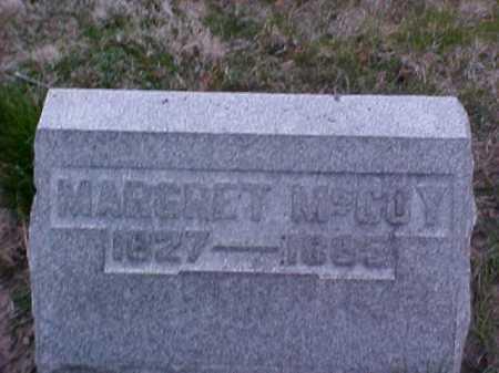 MCCOY, MARGARET - Fayette County, Ohio   MARGARET MCCOY - Ohio Gravestone Photos