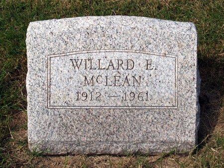 MCLEAN, WILLARD EVERETT - Fayette County, Ohio | WILLARD EVERETT MCLEAN - Ohio Gravestone Photos