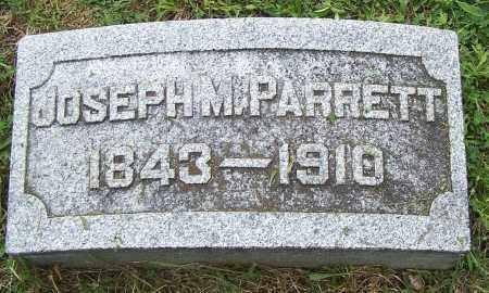 PARRETT, JOSEPH M - Fayette County, Ohio   JOSEPH M PARRETT - Ohio Gravestone Photos