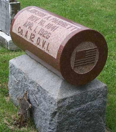 PARRETT, LAWSON A - Fayette County, Ohio | LAWSON A PARRETT - Ohio Gravestone Photos