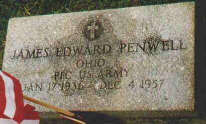 PENWELL, JAMES E - Fayette County, Ohio   JAMES E PENWELL - Ohio Gravestone Photos