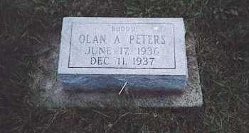 PETERS, OLAN A. - Fayette County, Ohio | OLAN A. PETERS - Ohio Gravestone Photos