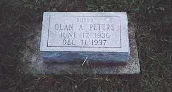 PETERS, OLAN A. - Fayette County, Ohio   OLAN A. PETERS - Ohio Gravestone Photos