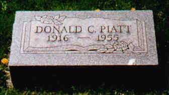 PIATT, DONALD C - Fayette County, Ohio   DONALD C PIATT - Ohio Gravestone Photos