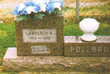 POLLARD, LAWRENCE B - Fayette County, Ohio | LAWRENCE B POLLARD - Ohio Gravestone Photos