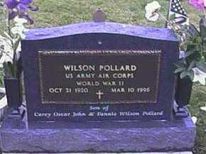 POLLARD, WILSON - Fayette County, Ohio | WILSON POLLARD - Ohio Gravestone Photos