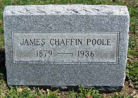 POOLE, JAMES CHAFFIN - Fayette County, Ohio | JAMES CHAFFIN POOLE - Ohio Gravestone Photos