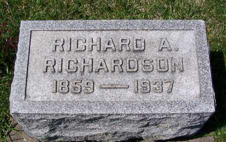 RICHARDSON, RICHARD A. - Fayette County, Ohio | RICHARD A. RICHARDSON - Ohio Gravestone Photos