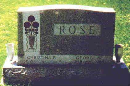 PIATT ROSE, CHRISTINA - Fayette County, Ohio | CHRISTINA PIATT ROSE - Ohio Gravestone Photos