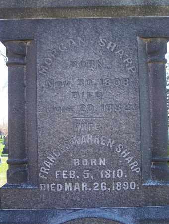 SHARP, FRANCES - Fayette County, Ohio | FRANCES SHARP - Ohio Gravestone Photos