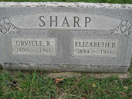 LOCKE SHARP, ELIZABETH B - Fayette County, Ohio | ELIZABETH B LOCKE SHARP - Ohio Gravestone Photos