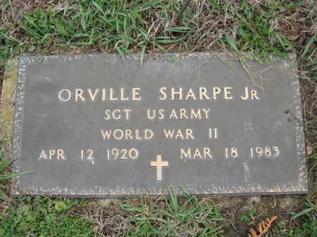 SHARP, ORVILLE JR  (SAM) - Fayette County, Ohio   ORVILLE JR  (SAM) SHARP - Ohio Gravestone Photos