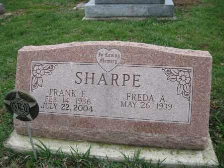 SHARPE (SHARP), FREDA A - Fayette County, Ohio | FREDA A SHARPE (SHARP) - Ohio Gravestone Photos