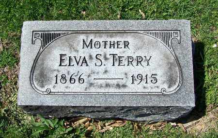 BAKER TERRY, ELVA S. - Fayette County, Ohio | ELVA S. BAKER TERRY - Ohio Gravestone Photos