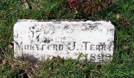 TERRY, MONTFORD J. - Fayette County, Ohio | MONTFORD J. TERRY - Ohio Gravestone Photos